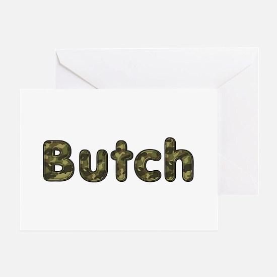 Butch Army Greeting Card