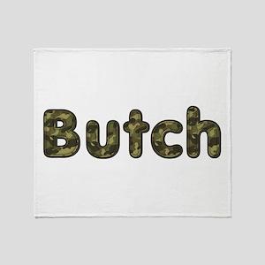 Butch Army Throw Blanket