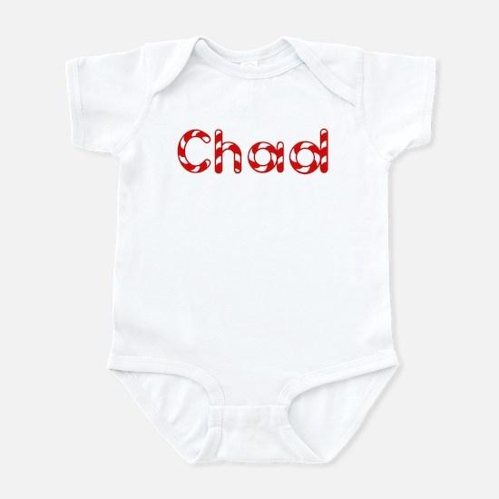 Chad - Candy Cane Infant Bodysuit