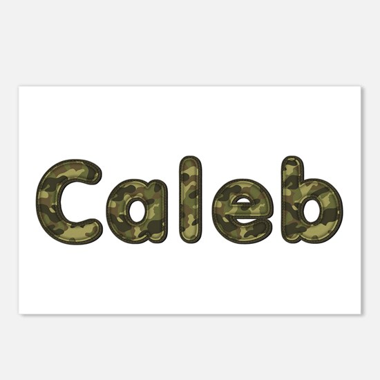Caleb Army Postcards 8 Pack