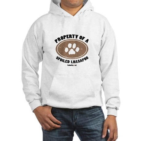 Lhasapoo dog Hooded Sweatshirt