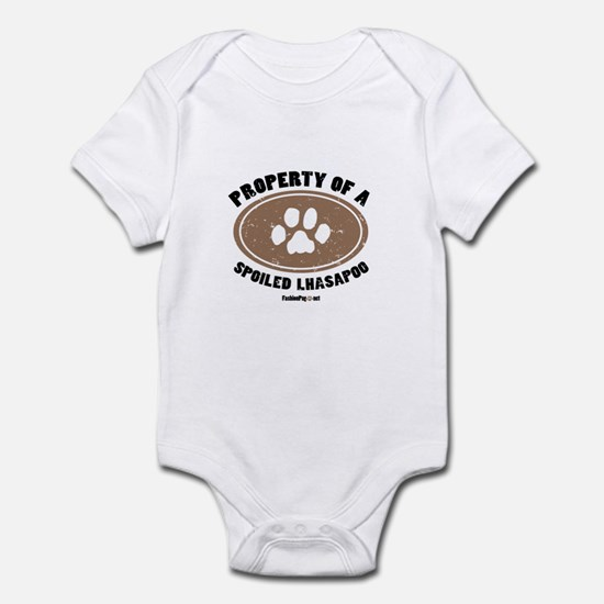 Lhasapoo dog Infant Bodysuit
