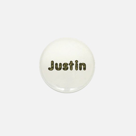 Justin Army Mini Button