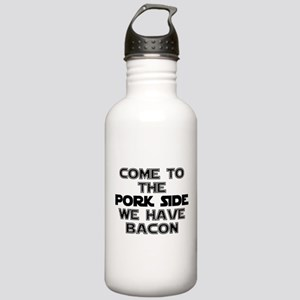 Pork Side Bacon Stainless Water Bottle 1.0L