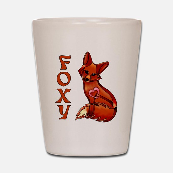 Foxy Shot Glass
