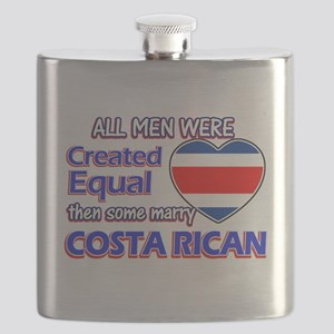 Costa rican Wife Designs Flask