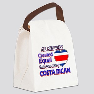 Costa rican Wife Designs Canvas Lunch Bag