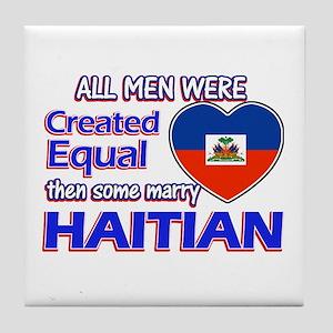 Haitian Wife Designs Tile Coaster