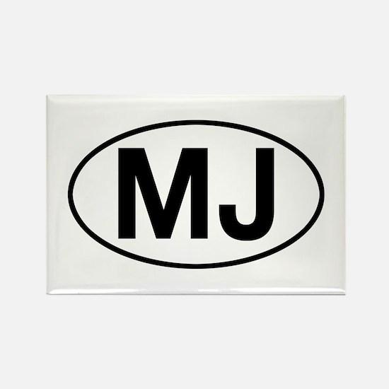 jeep mj Rectangle Magnet
