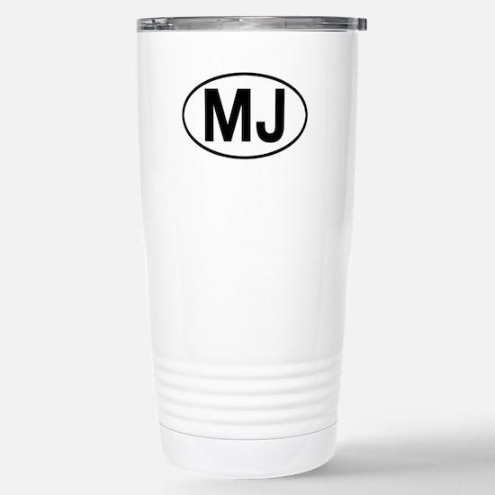 jeep mj Stainless Steel Travel Mug