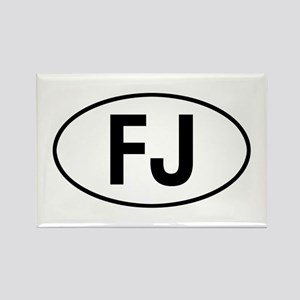 toyota FJ Rectangle Magnet