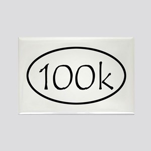 ultramarathon100k Rectangle Magnet