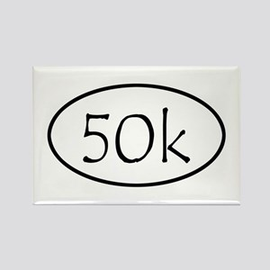 ultramarathon50k Rectangle Magnet