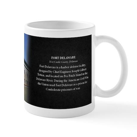 Fort Delaware Historical Mug Mug