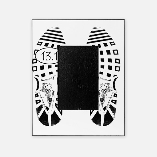 13.1a shoeprint shirt Picture Frame