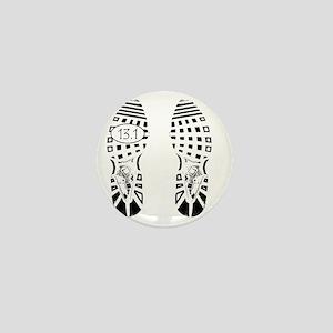 13.1a shoeprint shirt Mini Button