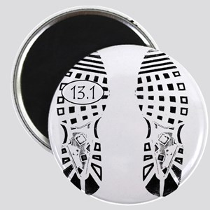 13.1a shoeprint shirt Magnet