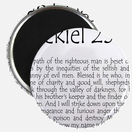 ezekiel2517 quote Magnet