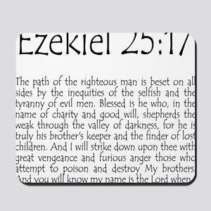 ezekiel2517 quote Mousepad