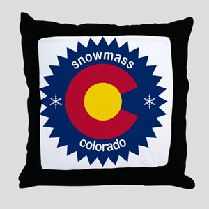 snowmass Throw Pillow