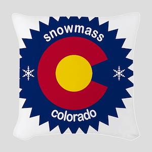 snowmass Woven Throw Pillow