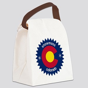 snowmass Canvas Lunch Bag