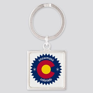 snowmass Square Keychain