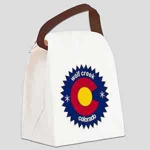 wolf creek Canvas Lunch Bag