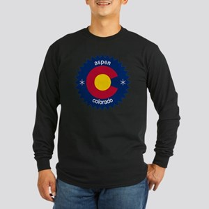 aspen Long Sleeve Dark T-Shirt