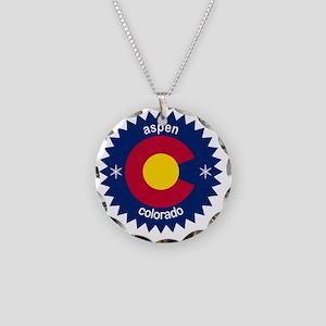 aspen Necklace Circle Charm