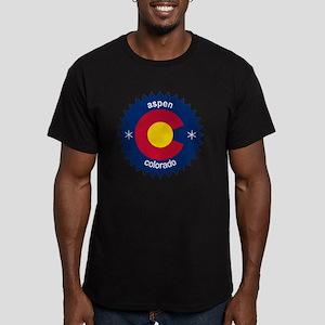 aspen Men's Fitted T-Shirt (dark)
