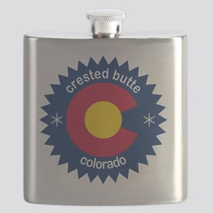 crested butte Flask