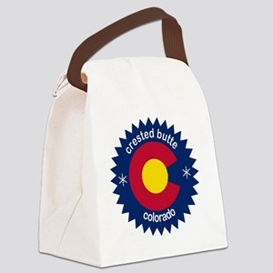 crested butte Canvas Lunch Bag