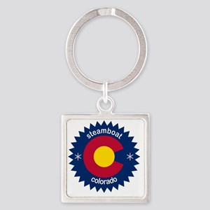 steamboat Square Keychain