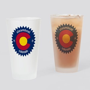 steamboat Drinking Glass
