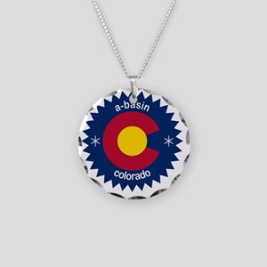 abasin Necklace Circle Charm