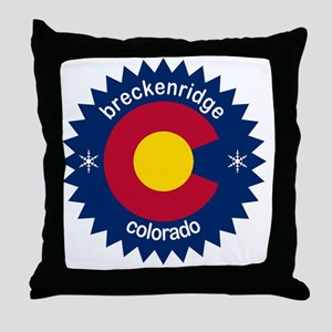 breckenridge3 Throw Pillow