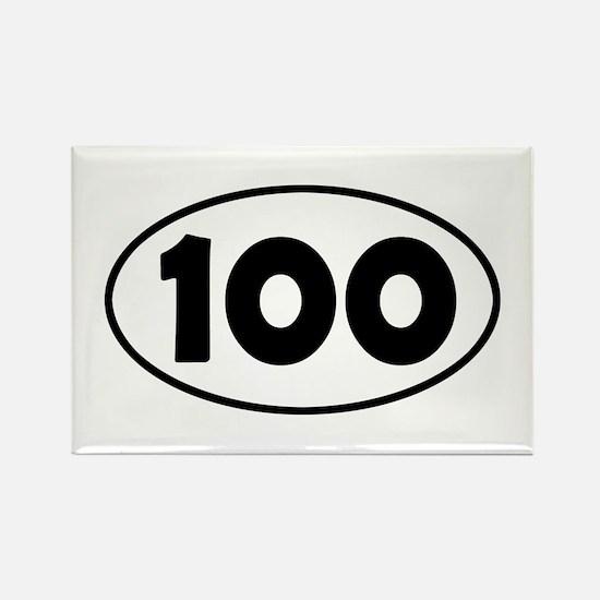 100k Oval Rectangle Magnet