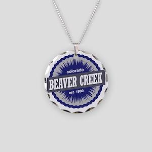 Beaver Creek Necklace Circle Charm