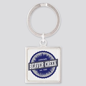 Beaver Creek Square Keychain