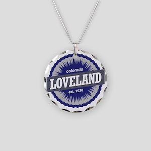 Loveland Necklace Circle Charm
