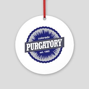 Purgatory Round Ornament