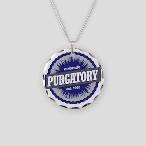 Purgatory Necklace Circle Charm