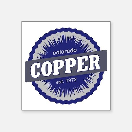 """Copper Mountain Ski Resort  Square Sticker 3"""" x 3"""""""