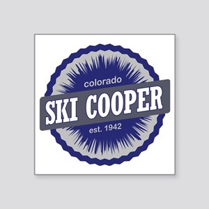 "Ski Cooper Ski Resort Color Square Sticker 3"" x 3"""