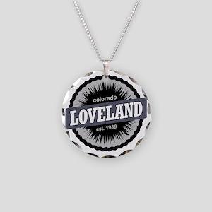 Loveland Ski Resort Colorado Necklace Circle Charm