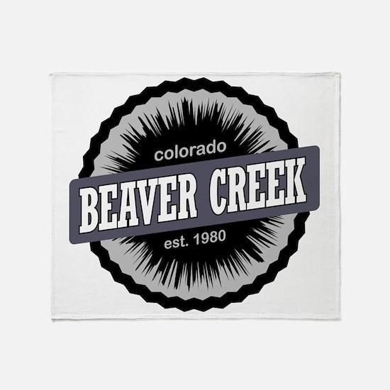 Beaver Creek Ski Resort Colorado Bla Throw Blanket