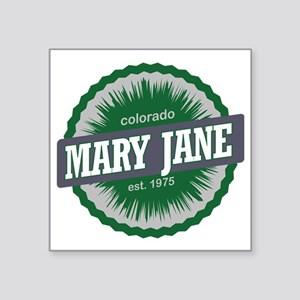 "Mary Jane Ski Resort Colora Square Sticker 3"" x 3"""