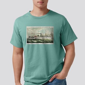 Steamer Penobscot - 1883 Mens Comfort Colors Shirt