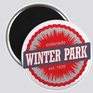 Winter Park Ski Resort Colorado Red Magnet